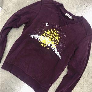 Tee Tale 🌙 moon mountain sweatshirt Colorado Star